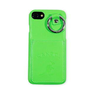 iPhone8/7/6s/6 ケース KANGOL カンゴール POCKET NEONGRN iPhone 8/7/6s/6