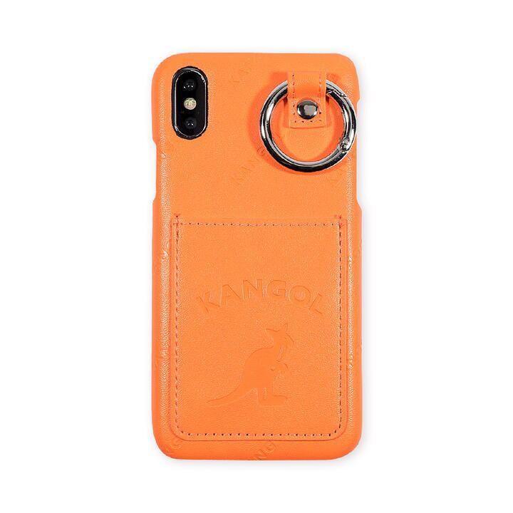 iPhone XS/X ケース KANGOL カンゴール POCKET NEONORG iPhone XS/X_0