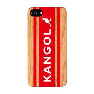 iPhone8/7/6s/6 ケース KANGOL カンゴール BOXLOGO RED iPhone 8/7/6s/6【1月下旬】