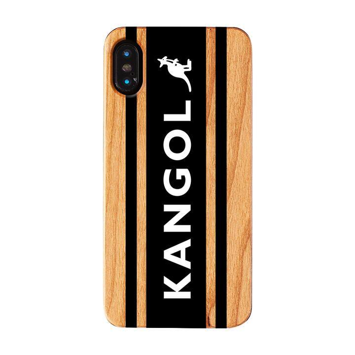 iPhone XS/X ケース KANGOL カンゴール BOXLOGO BLK iPhone XS/X_0