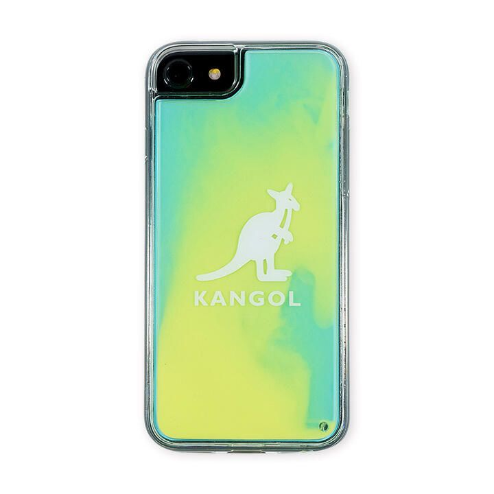 iPhone8/7/6s/6 ケース KANGOL カンゴール NEON SAND LOGO YEL iPhone 8/7/6s/6_0