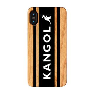 iPhone XS/X ケース KANGOL カンゴール BOXLOGO BLK iPhone XS/X【1月下旬】