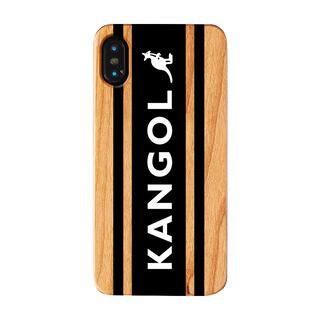 iPhone XS/X ケース KANGOL カンゴール BOXLOGO BLK iPhone XS/X