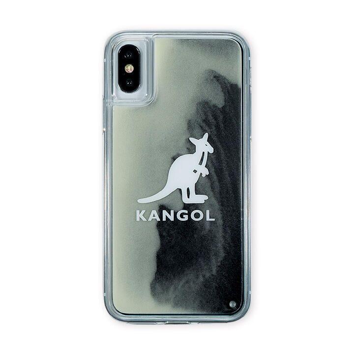 iPhone XS/X ケース KANGOL カンゴール NEON SAND LOGO BLK iPhone XS/X_0
