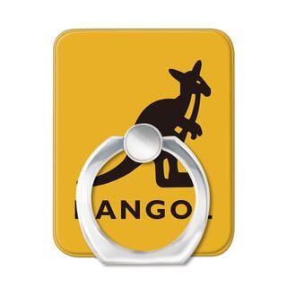 KANGOL カンゴール LOGO YLW スマホリング iPhone落下防止リング