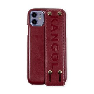 iPhone 11 ケース KANGOL カンゴール HANDLE RED iPhone 11
