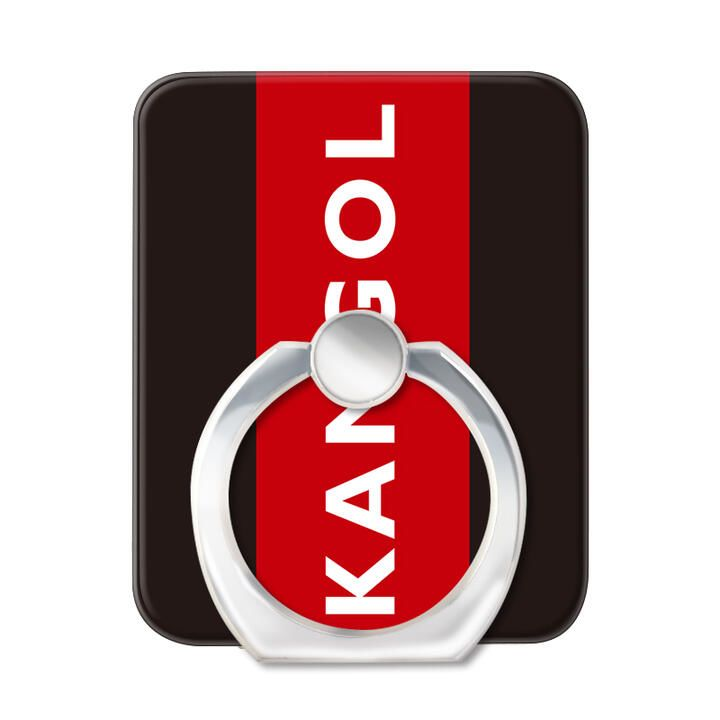KANGOL カンゴール BOX RED スマホリング iPhone落下防止リング【1月下旬】_0