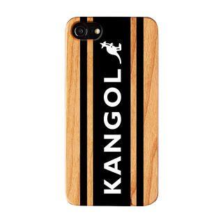 iPhone8/7/6s/6 ケース KANGOL カンゴール BOXLOGO BLK iPhone 8/7/6s/6【1月下旬】