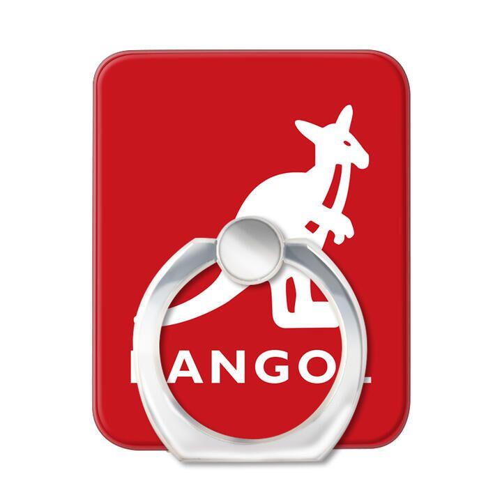 KANGOL カンゴール LOGO RED スマホリング iPhone落下防止リング_0