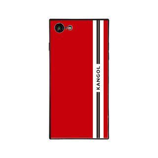 iPhone8/7 ケース KANGOL カンゴール LINE RED iPhone 8/7