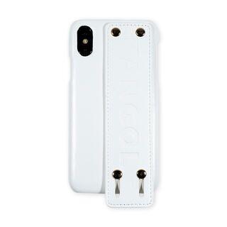 iPhone XS/X ケース KANGOL カンゴール HANDLE WHT iPhone XS/X【2月上旬】