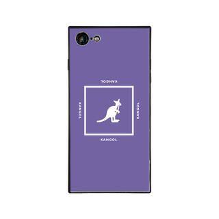 iPhone8/7 ケース KANGOL カンゴール SQUARE PPL iPhone 8/7