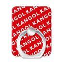 KANGOL カンゴール NAME PATTERN RD スマホリング iPhone落下防止リング