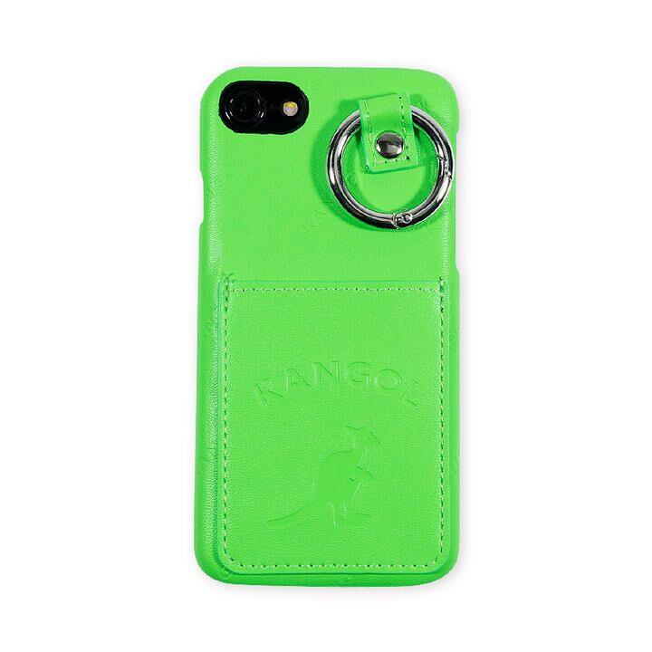 iPhone8/7/6s/6 ケース KANGOL カンゴール POCKET NEONGRN iPhone 8/7/6s/6_0