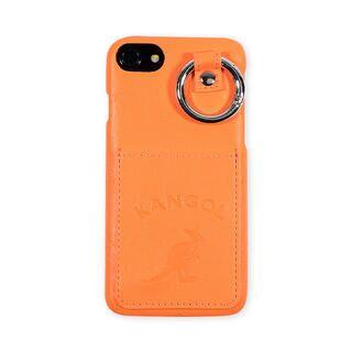 iPhone8/7/6s/6 ケース KANGOL カンゴール POCKET NEONORG iPhone 8/7/6s/6【1月下旬】