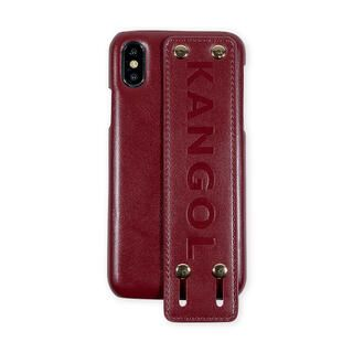 iPhone XS/X ケース KANGOL カンゴール HANDLE RED iPhone XS/X