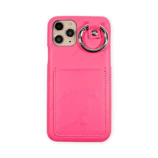 iPhone 11 Pro ケース KANGOL カンゴール POCKET NEONPNK iPhone 11 Pro