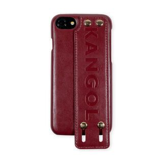 iPhone8/7/6s/6 ケース KANGOL カンゴール HANDLE RED iPhone 8/7/6s/6【2月上旬】