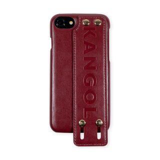iPhone8/7/6s/6 ケース KANGOL カンゴール HANDLE RED iPhone 8/7/6s/6【1月下旬】