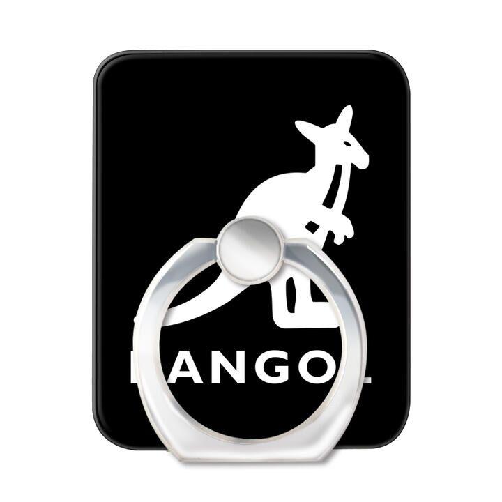 KANGOL カンゴール LOGO BLK スマホリング iPhone落下防止リング【1月下旬】_0