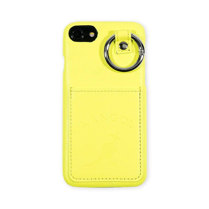 iPhone8/7/6s/6 ケース KANGOL カンゴール POCKET NEONYEL iPhone 8/7/6s/6_0