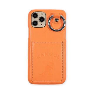 iPhone 11 Pro ケース KANGOL カンゴール POCKET NEONORG iPhone 11 Pro【3月上旬】