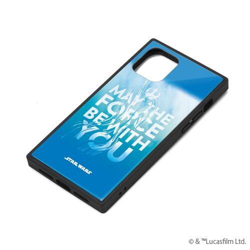 iPhone 11 Pro ケース ガラスハイブリッドケース ブルー iPhone 11 Pro【12月上旬】_0