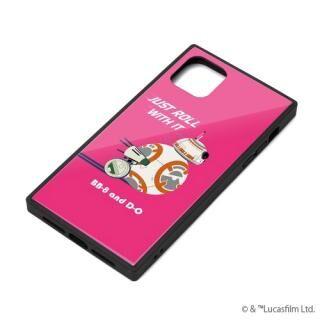 iPhone 11 ケース ガラスハイブリッドケース BB-8 iPhone 11