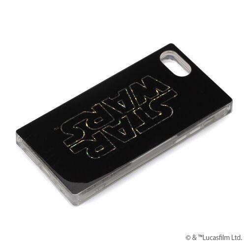 iPhone8/7/6s/6 ケース グリッターケース STAR WARSロゴ/ブラック iPhone 8/7/6s/6【4月中旬】_0