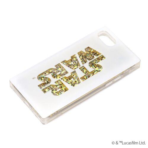 iPhone8/7/6s/6 ケース グリッターケース STAR WARSロゴ/ホワイト iPhone 8/7/6s/6【12月上旬】_0