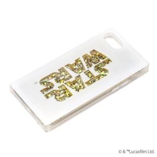 iPhone8/7/6s/6 ケース グリッターケース STAR WARSロゴ/ホワイト iPhone 8/7/6s/6【7月中旬】