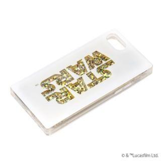 iPhone8/7/6s/6 ケース グリッターケース STAR WARSロゴ/ホワイト iPhone 8/7/6s/6【2月上旬】