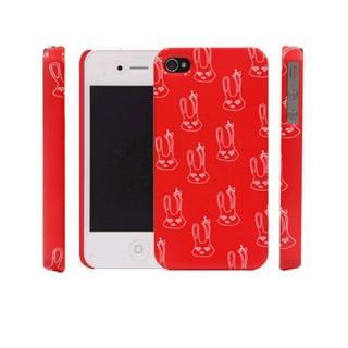 icover Royal family シリーズ Lapin レッド iPhone4s/4用ケース