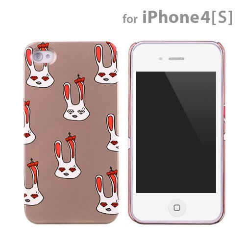【50%OFF】icover Royal family シリーズ Lapin グレー iPhone4s/4用ケース_0