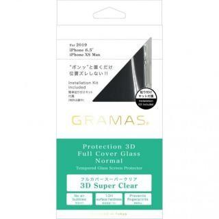 iPhone 11 Pro Max フィルム GRAMAS COLORS スーパークリア強化ガラス iPhone 11 Pro Max