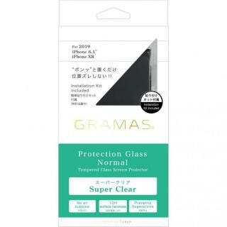 iPhone 11 フィルム GRAMAS COLORS フルカバー型保護強化ガラス iPhone 11
