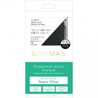 iPhone 11 Pro Max フィルム GRAMAS COLORS フルカバー型保護強化ガラス iPhone 11 Pro Max