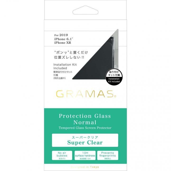 iPhone 11 フィルム GRAMAS COLORS スーパークリア強化ガラス iPhone 11_0