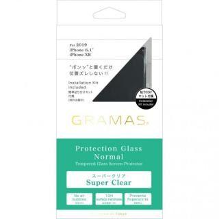 iPhone 11 フィルム GRAMAS COLORS スーパークリア強化ガラス iPhone 11