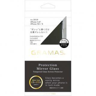 iPhone 11 Pro フィルム GRAMAS COLORS プロテクションミラー強化ガラス ゴールド iPhone 11 Pro