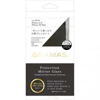 iPhone 11 Pro Max フィルム GRAMAS COLORS プロテクションミラー強化ガラス ゴールド iPhone 11 Pro Max