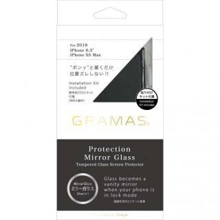 iPhone 11 Pro Max フィルム GRAMAS COLORS プロテクションミラー強化ガラス シルバー iPhone 11 Pro Max