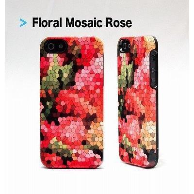 UN Uncommon Floral Mosaic Rose iPhone SE/5s/5 ケース
