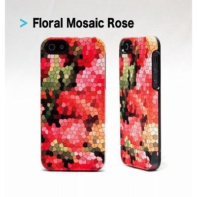 iPhone SE/5s/5 ケース UN Uncommon Floral Mosaic Rose iPhone SE/5s/5 ケース_0