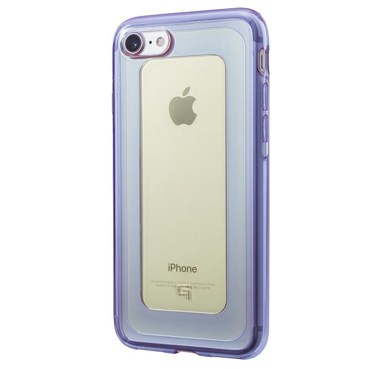 iPhone8/7 ケース GRAMAS COLORS GEMS ハイブリッドケース シトリン イエロー/パープル iPhone 8/7_0