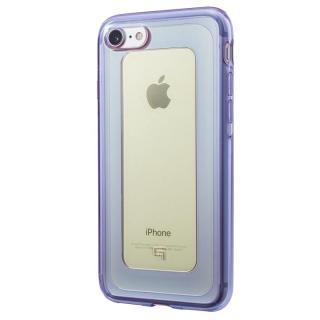 【iPhone8/7ケース】GRAMAS COLORS GEMS ハイブリッドケース シトリン イエロー/パープル iPhone 8/7