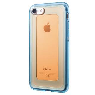 GRAMAS COLORS GEMS ハイブリッドケース ガーネット オレンジ/ブルー iPhone 7