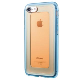 iPhone8/7 ケース GRAMAS COLORS GEMS ハイブリッドケース ガーネット オレンジ/ブルー iPhone 8/7