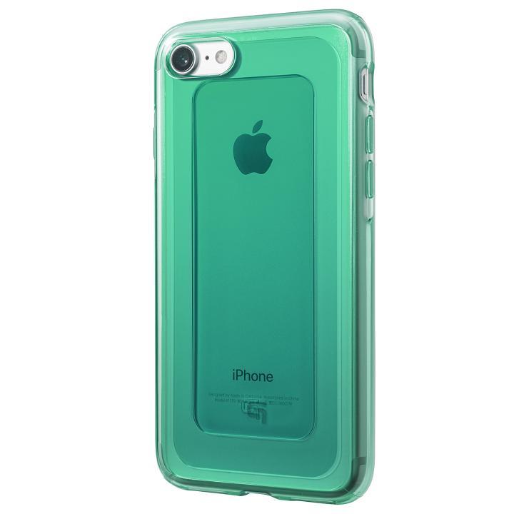 iPhone8/7 ケース GRAMAS COLORS GEMS ハイブリッドケース エメラルドグリーン iPhone 8/7_0