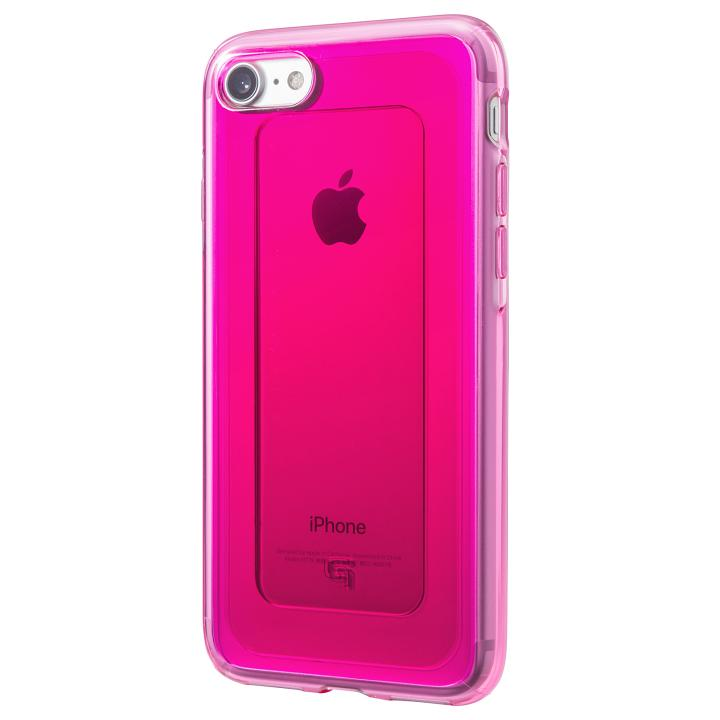 iPhone8/7 ケース GRAMAS COLORS GEMS ハイブリッドケース ルビーピンク iPhone 8/7_0
